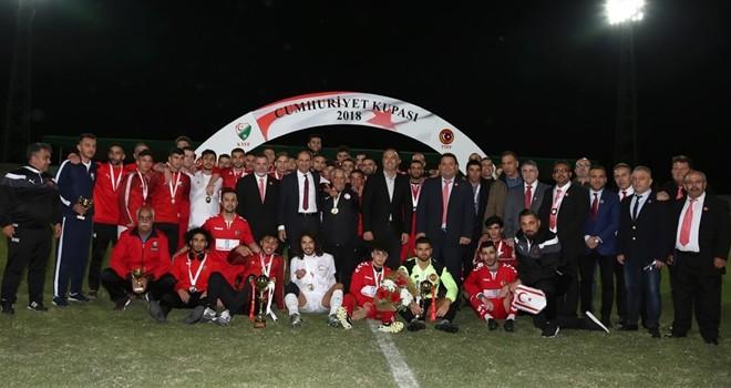 """""""Cumhuriyet Kupası 2018"""" organizasyonu gerçekleştirildi"""