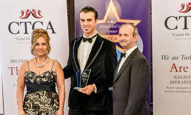 Kıbrıs Türk kültürünü tanıtan Özgen'e ödül