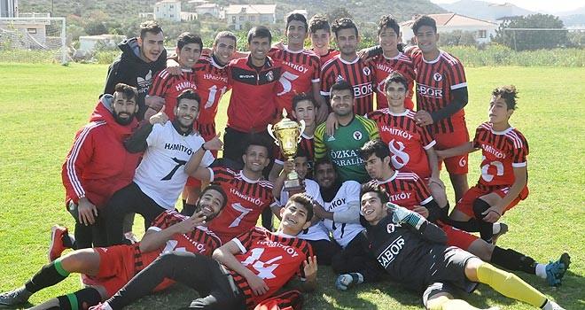 İlk şampiyon Hamitköy U21 takımı