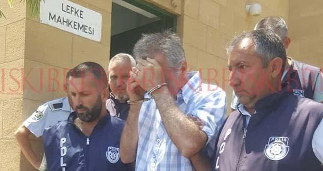 Eşini vurarak öldüren Erhalk'a 3 gün tutuklukuk alındı