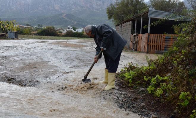 Girne için su baskını yarım numaraları yayınlandı