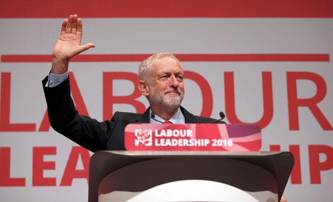 Corbyn yeniden başkan seçildi
