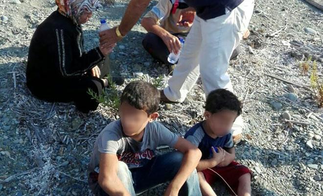 Pirgo açıklarında tespit edilen 47 mülteci kurtarıldı