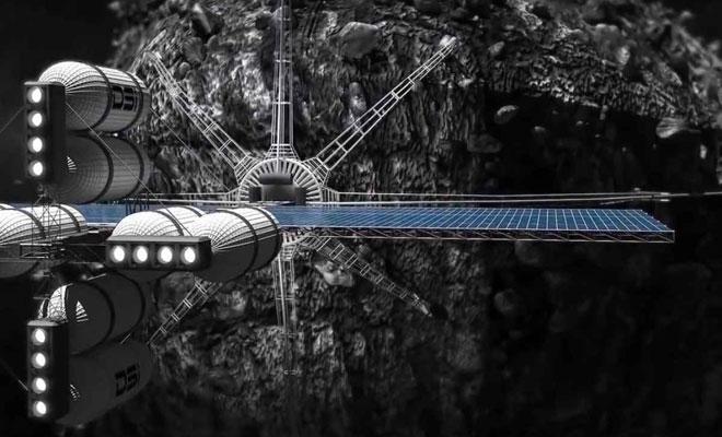 Uzay madenciliğinde ilk adım bugün atılıyor