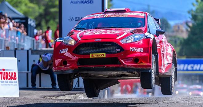 Türkiye'den WRC geçti