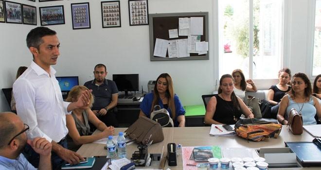 CTP Girne Belediye Başkan adayı Karaman, okulları ziyaret etti