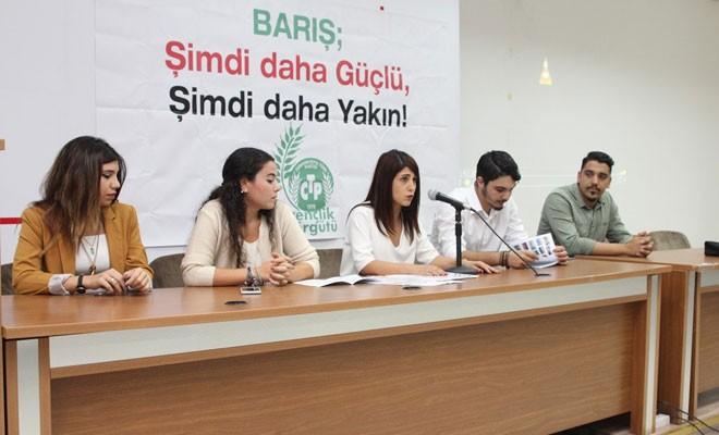 Gençlik Kurultayı'nda iki toplumlu mesaj: Artık çözüm istiyoruz!