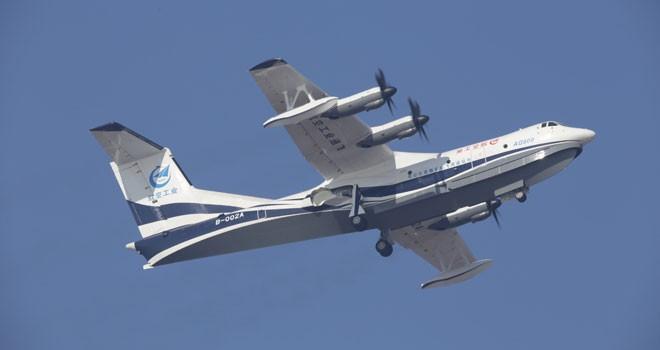 O dünyanın en büyük amfibik uçağı