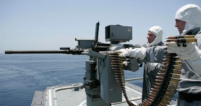 Açık deniz devriye gemisi Larnaka'da