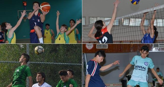 Okullarda spor coşkusu