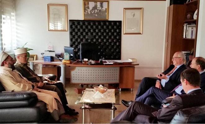 Fransız danışman Atalay'ı ziyaret etti