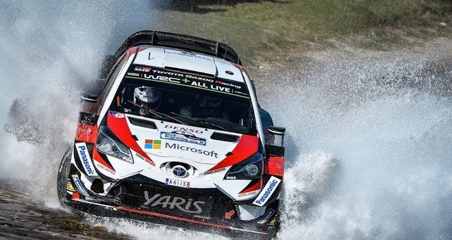 WRC'de ilk devrenin lideri Neuville