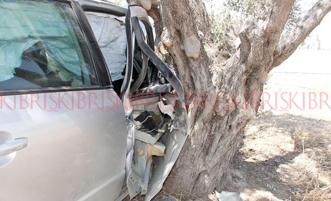 Kazada anne-oğul yaralandı