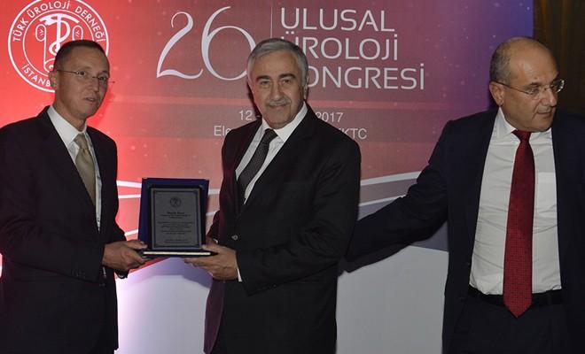 Cumhurbaşkanı Akıncı Üroloji Kongresi'nin açılışına katıldı