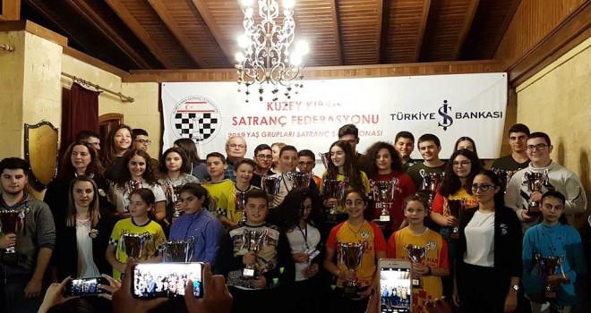 Satrançta şampiyonlar belli oldu