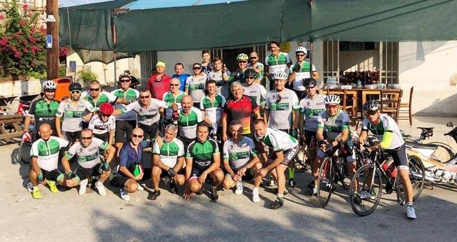 Green Pedalcılar Serdarlı'daydı