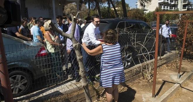 Çıpras'tan 42 gün sonra yangın felaketi bölgesine ziyaret