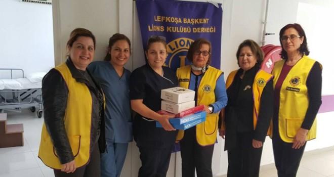 Dr. Burhan Nalbantoğlu Hastanesi'ne anlamlı bağış