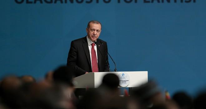 Erdoğan: Amerika'nın Kudüs kararını bir kez daha reddediyorum