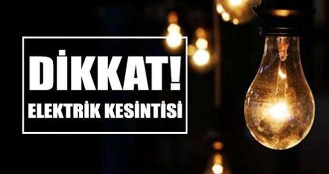 Mağusa'da 7 saatlik elektrik kesintisi