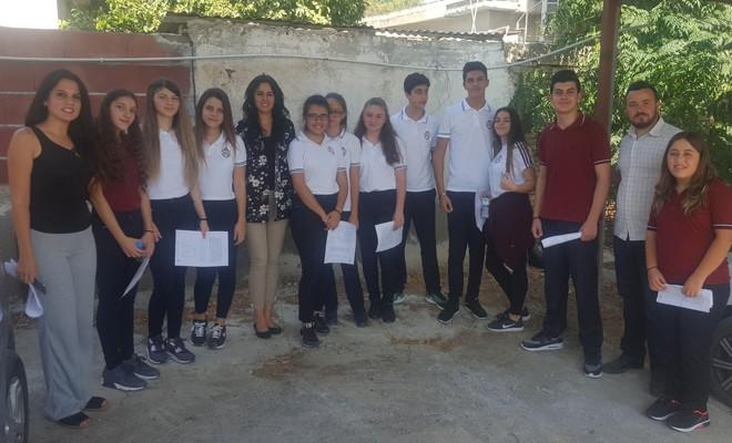 Yakın Doğu Koleji öğrencileri ormanlar ve bitkiler hakkında bilgilendirildi