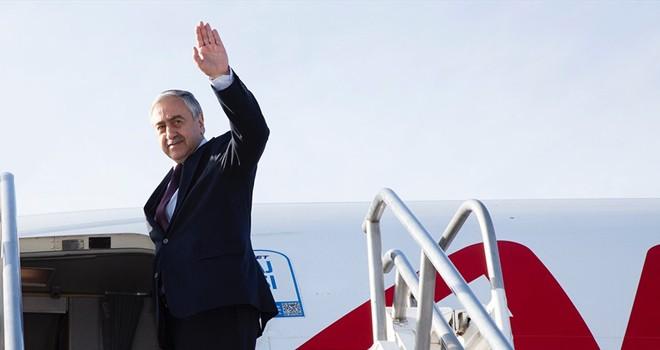 Cumhurbaşkanı Akıncı yarın İstanbul'a gidecek