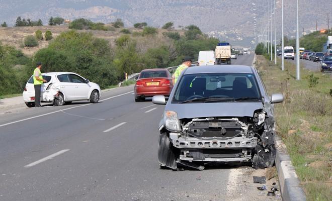 77 kazada 1 kişi öldü, 38 kişi yaralandı