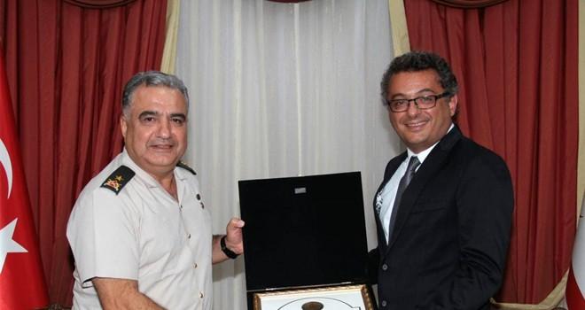 Başbakan Erhürman, komutanları kabul etti
