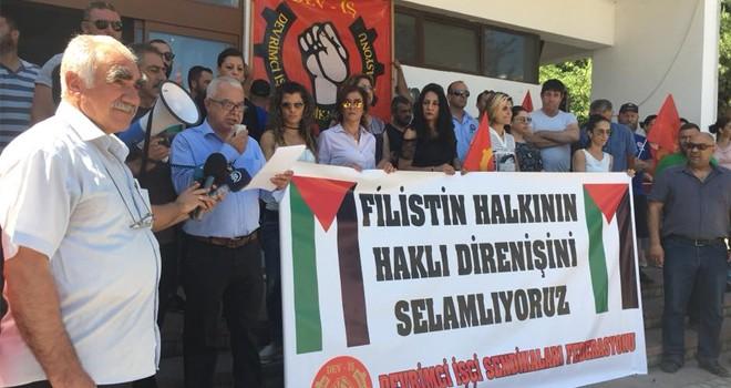 Filistin halkı ile dayanışma