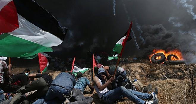 Gazze yanıyor, dünya izliyor