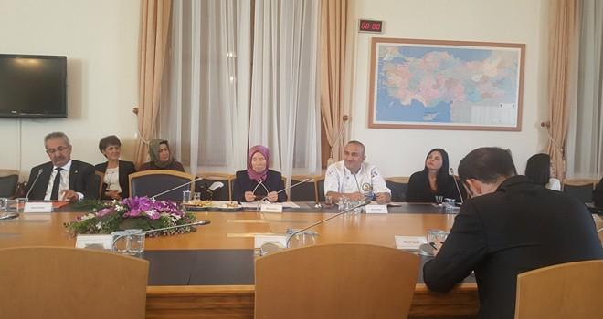 Şef Süleyman Engin, TBMM Çölyak Araştırma Komisyonu'nda görev aldı