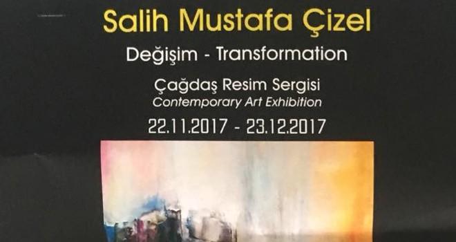 Salih Mustafa Çizel'in sergisi yarın açılacak