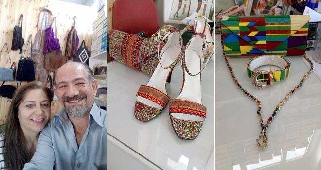 Ayakkabı ve çanta imal ediyor