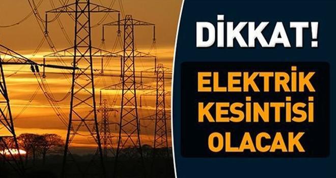 Girne'de 6 saatlik elektrik kesintisi