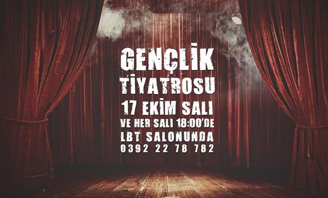 Lefkoşa Belediye Tiyatrosu'nun gençlik ve çocuk tiyatrosu çalışmaları başlıyor