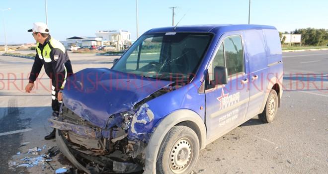 Araçlar büyük hasar gördü