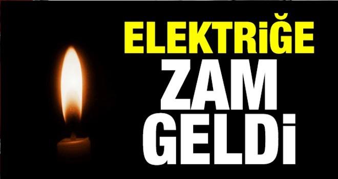 Elektriğe yüzde 32'ye varan zam