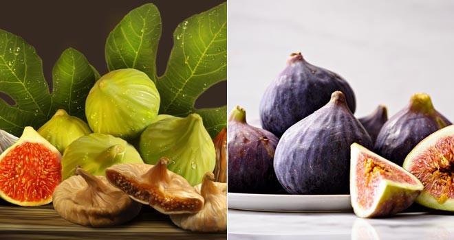 Mucizevi yaz meyveleri; üzüm ve incir