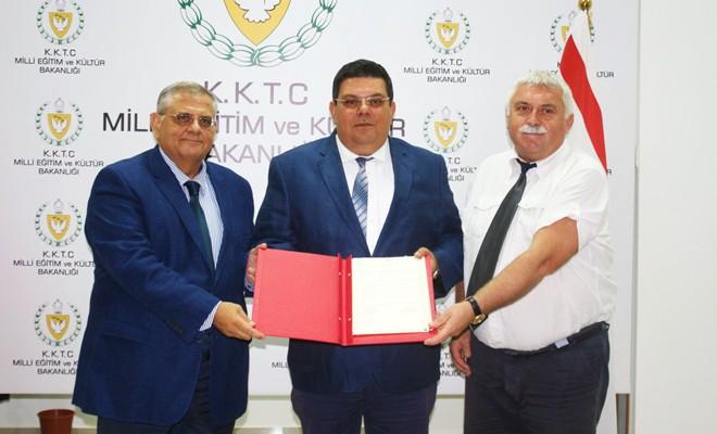 Eğitim Bakanlığı ile DAÜ arasında protokol imzalandı