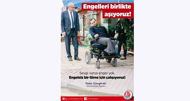 Güngördü: Engelliler için eşit fırsat yaratmalıyız