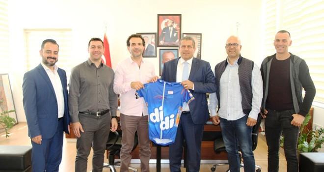 Arter, Bisiklet Federasyonu yetkilileriyle görüştü