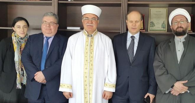 Fransız Büyükelçi Troccaz Atalay'ı ziyaret etti