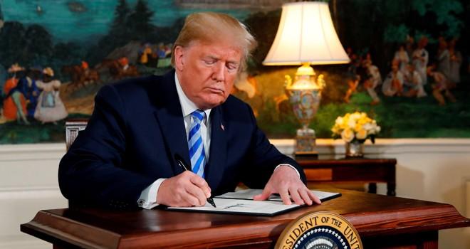 ABD İran'la nükleer anlaşmadan ayrılıyor
