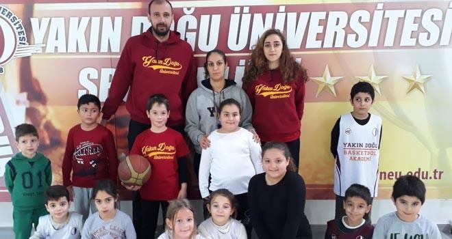 YDÜ Basketbol Akademi antrenmanlara başladı