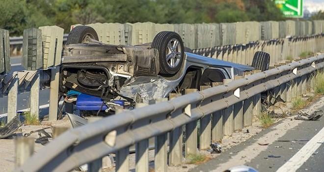 11 yaşındaki iki kız trafik kazasında hayatını kaybetti