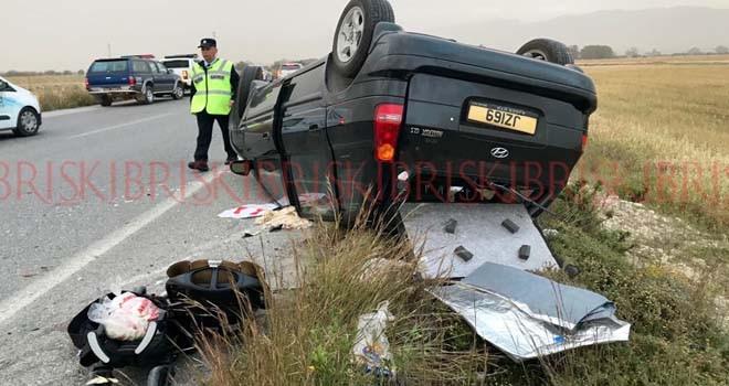 Trafik kazalarında 1 haftada 59 kişi yaralandı