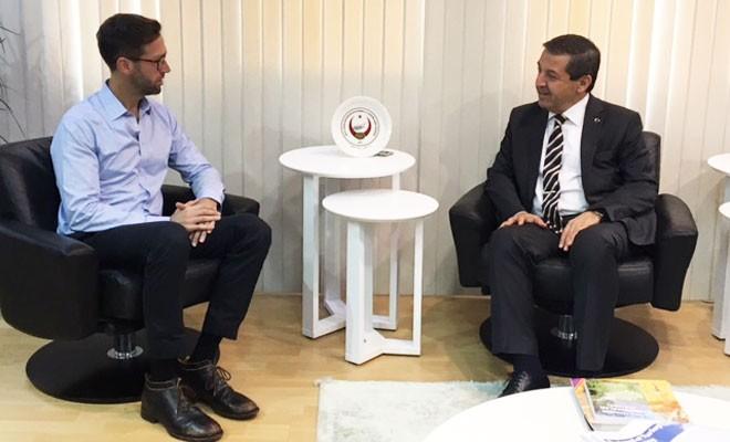 Ertuğruloğlu çözüm yanlısı STÖ'nün yetkilisiyle görüştü