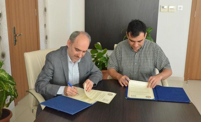 DAÜ ile Guilan Üniversitesi protokol imzaladı