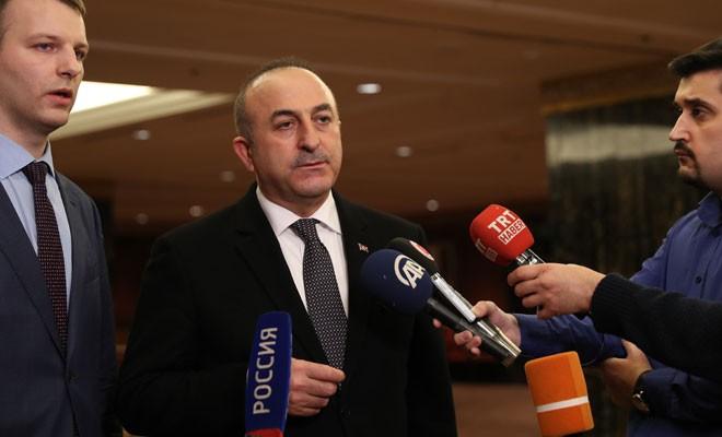 Çavuşoğlu: Hedef iki ülke arasındaki işbirliği