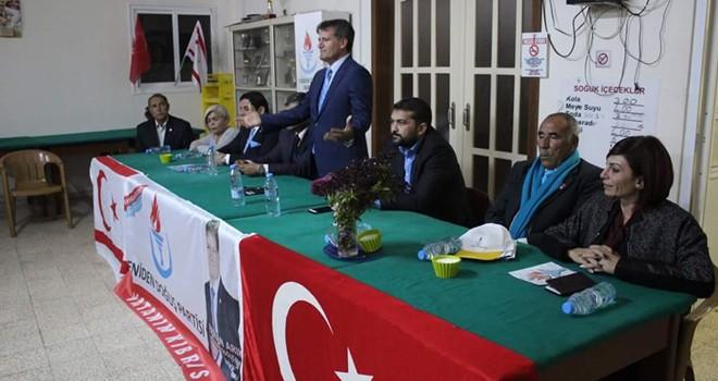 Arıklı: YDP bu seçimin sürpriz partisi olacak